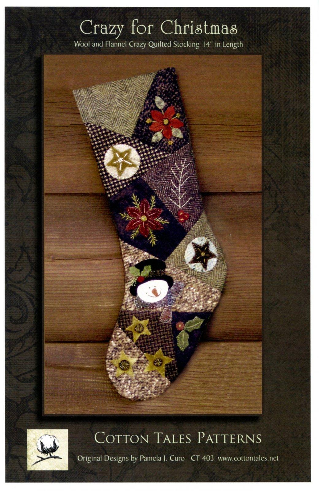 Crazy for Christmas Stocking