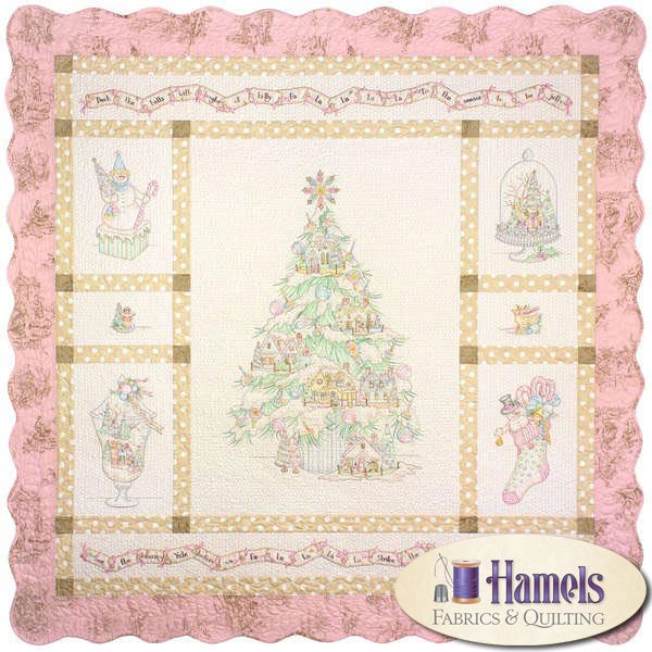 Deck The Halls Block of the Month