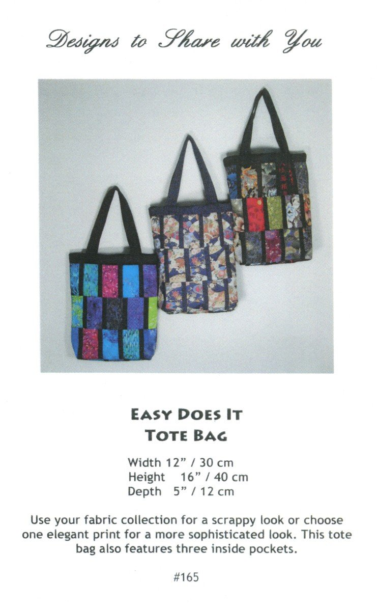 Easy Does It Tote Bag
