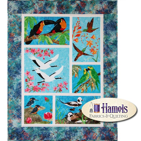 Endangered Birds Block of the Month