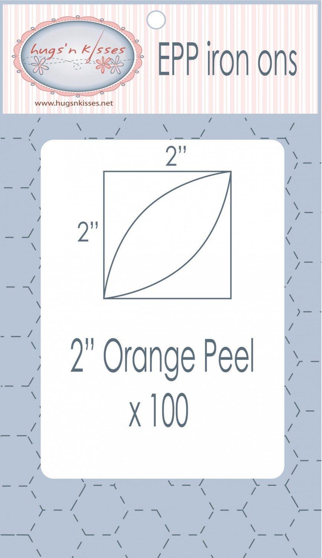2in Orange Peel EPP Iron-on x 100
