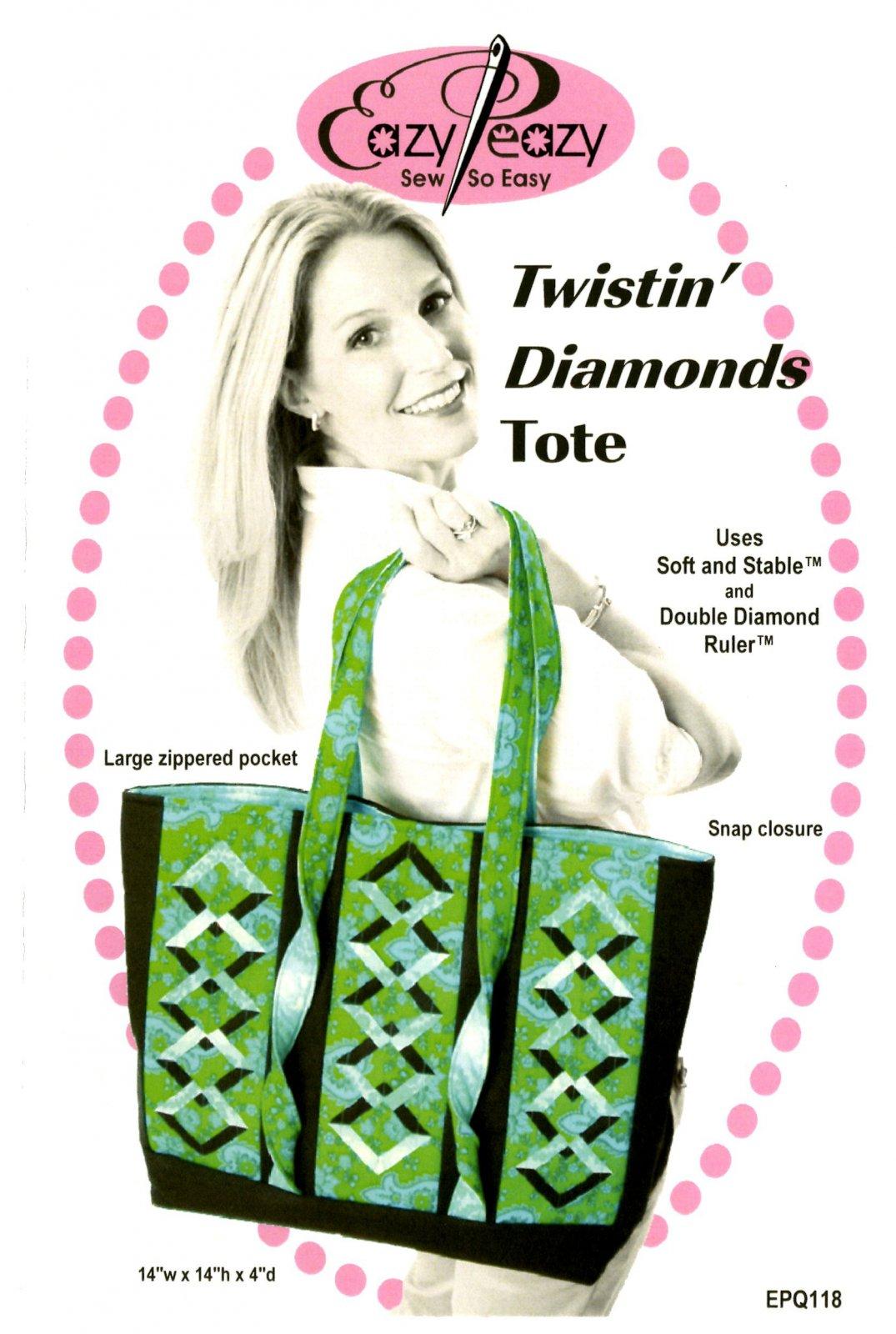 Twistin' Diamonds Tote