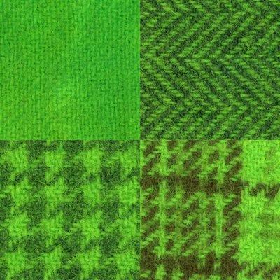 Wool Fat 1/4's - Chartreuse Assortment - PRI 5526W