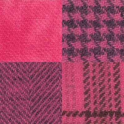 Wool Fat 1/4's - Pink Posie Assortment - PRI 5528W