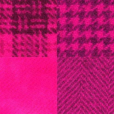 Wool Fat 1/4's - Fuschia Assortment - PRI 5529W