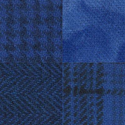 Wool Fat 1/4's - Sky Blue Assortment - PRI 5535W