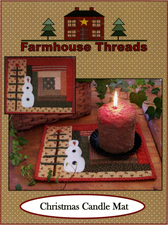 Christmas Candle Mat