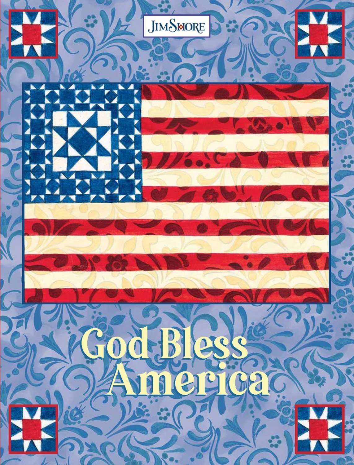 God Bless America Lined Journal ~ RELEASE DATE DEC 20/20 ~