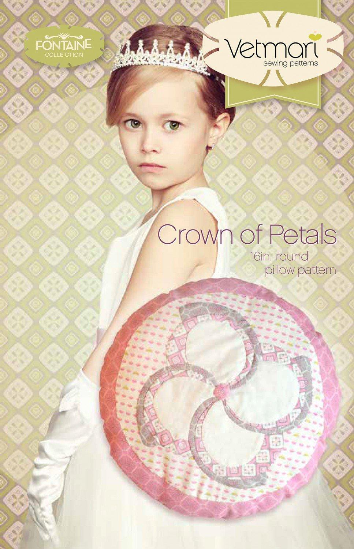 Crown of Petals Pillow