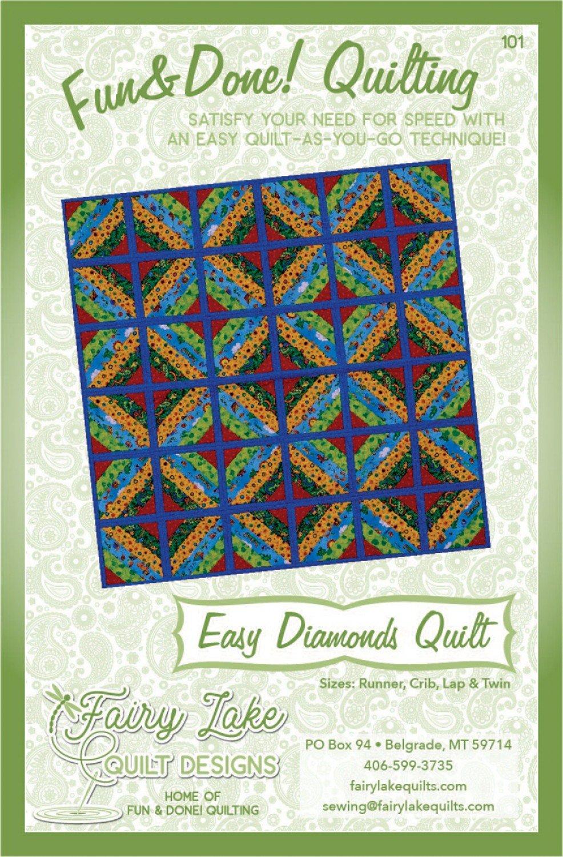 Fun & Done - Easy Diamonds Quilt