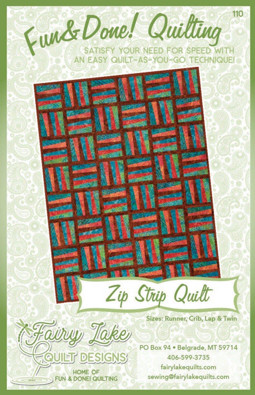 Fun & Done Zip Strip