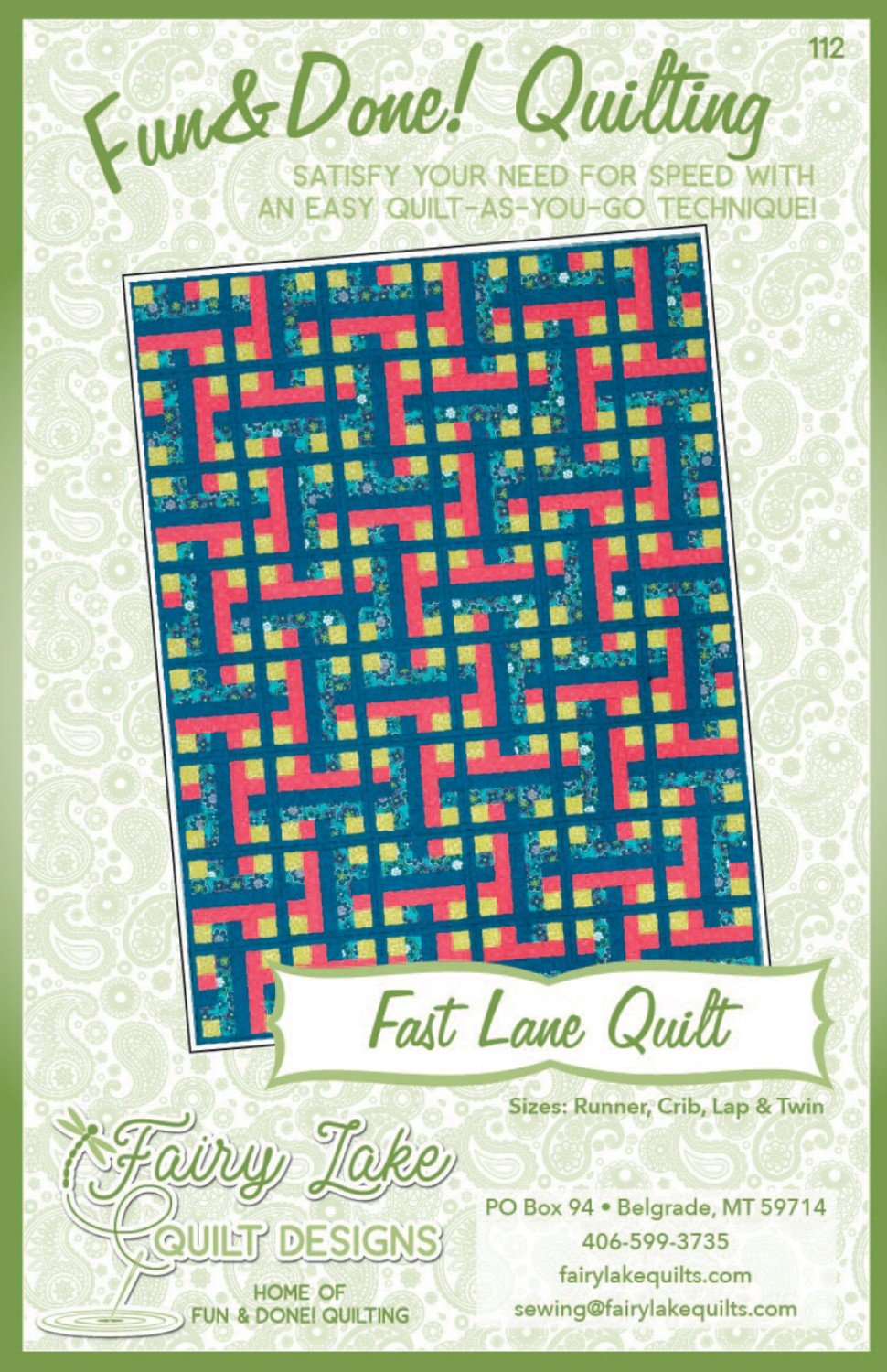 Fun & Done - Fast Lane Quilting