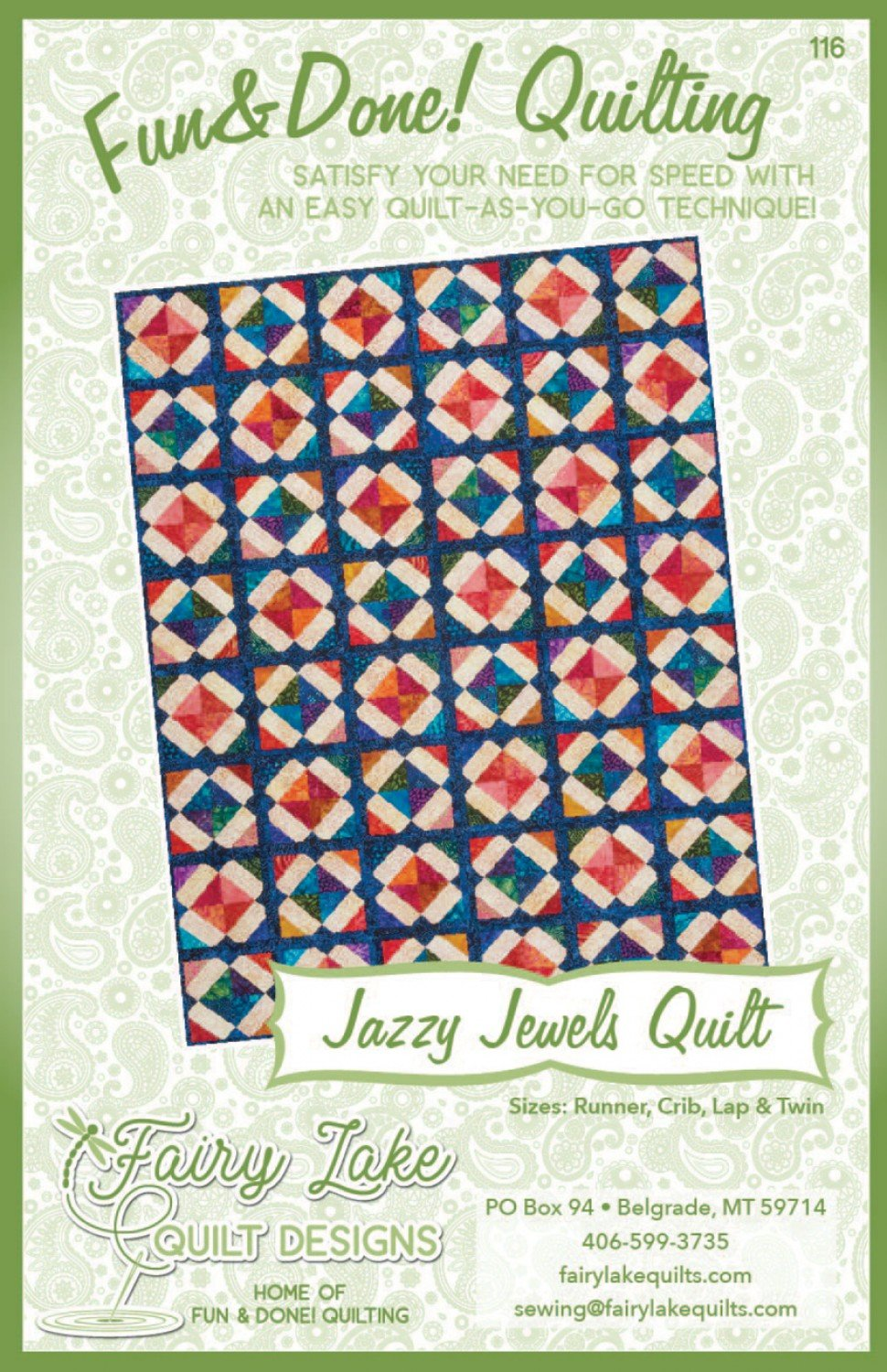 Fun & Done - Jazzy Jewels Quilt