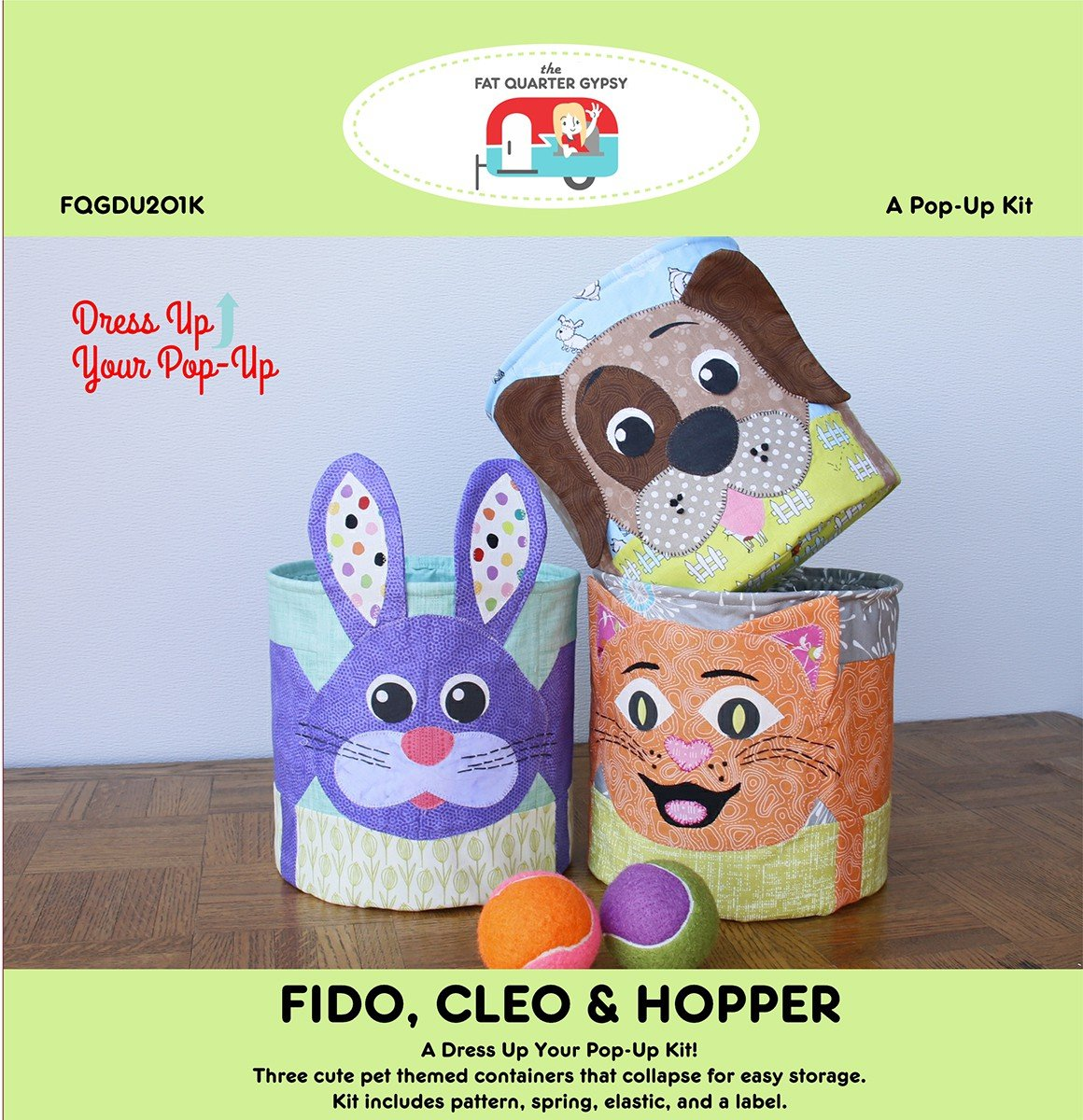 Fido Cleo & Hopper Kit