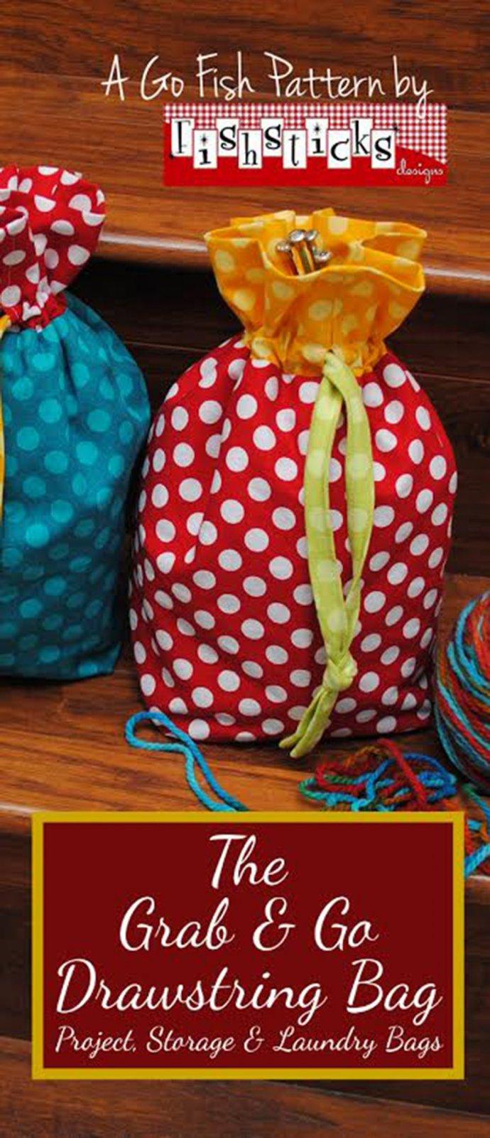 Grab & Go Drawstring Bag