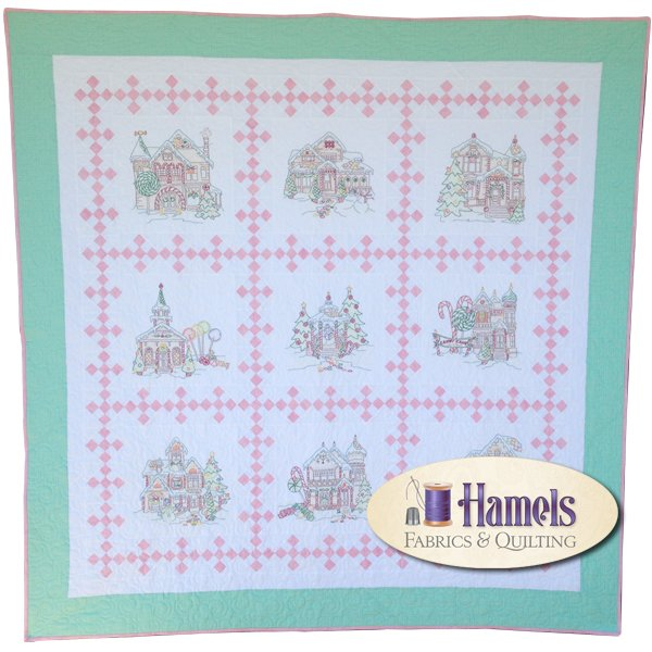 Gingerbread Square Quilt Kit