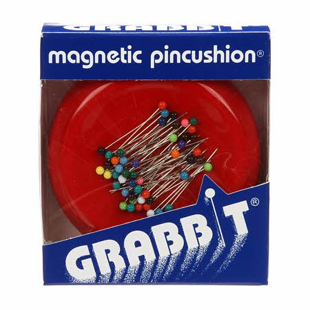 Grabbit Magnetic Pincushion Red