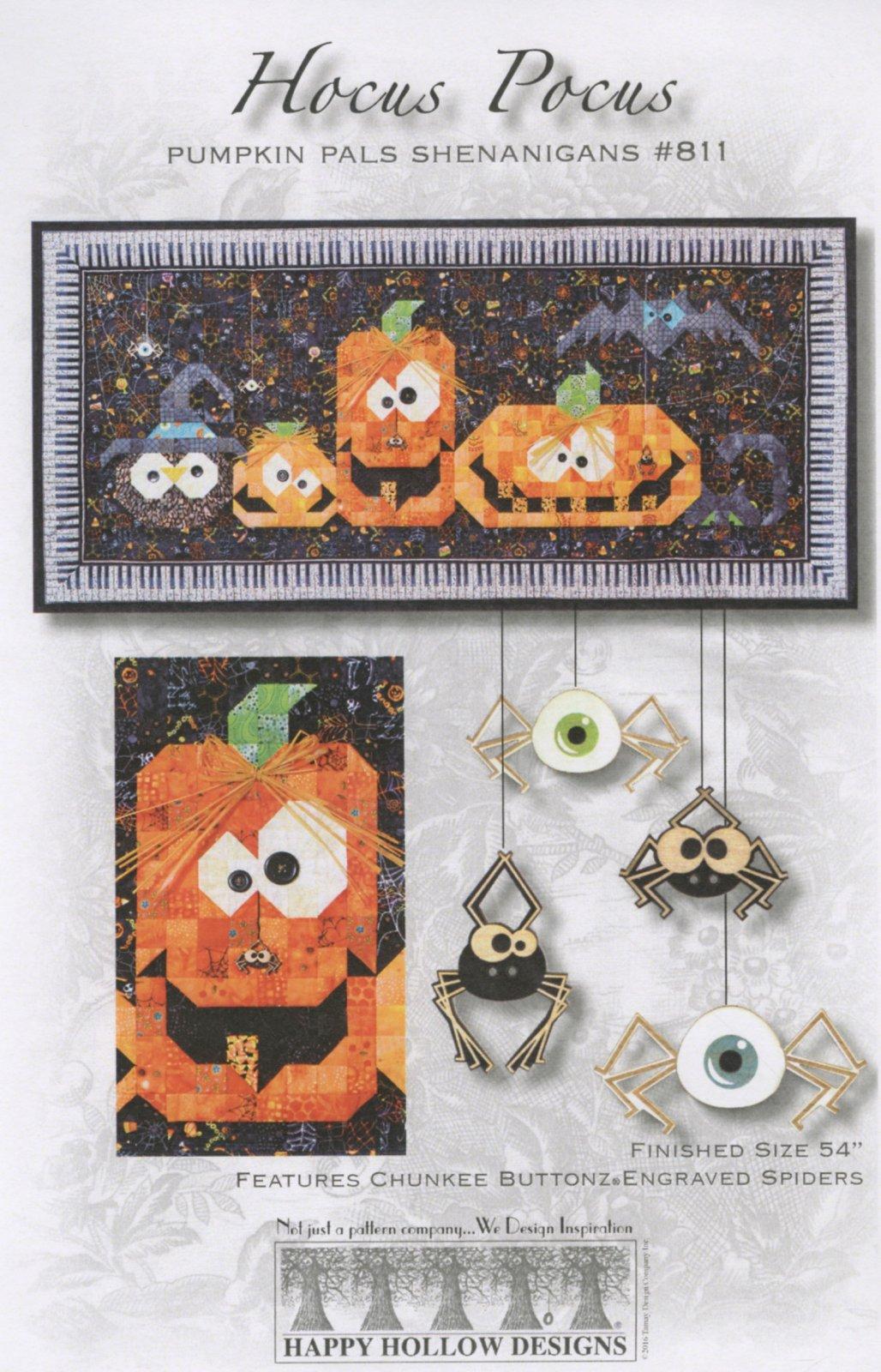 Hocus Pocus Pumpkins Pattern