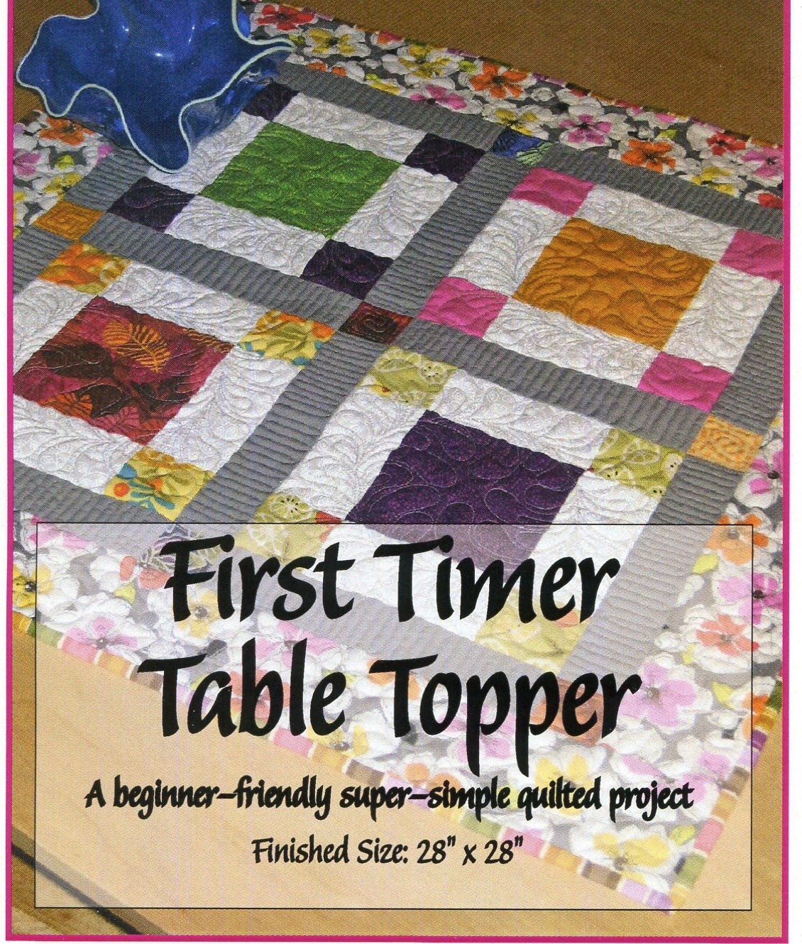 First Timer Table Topper Pattern