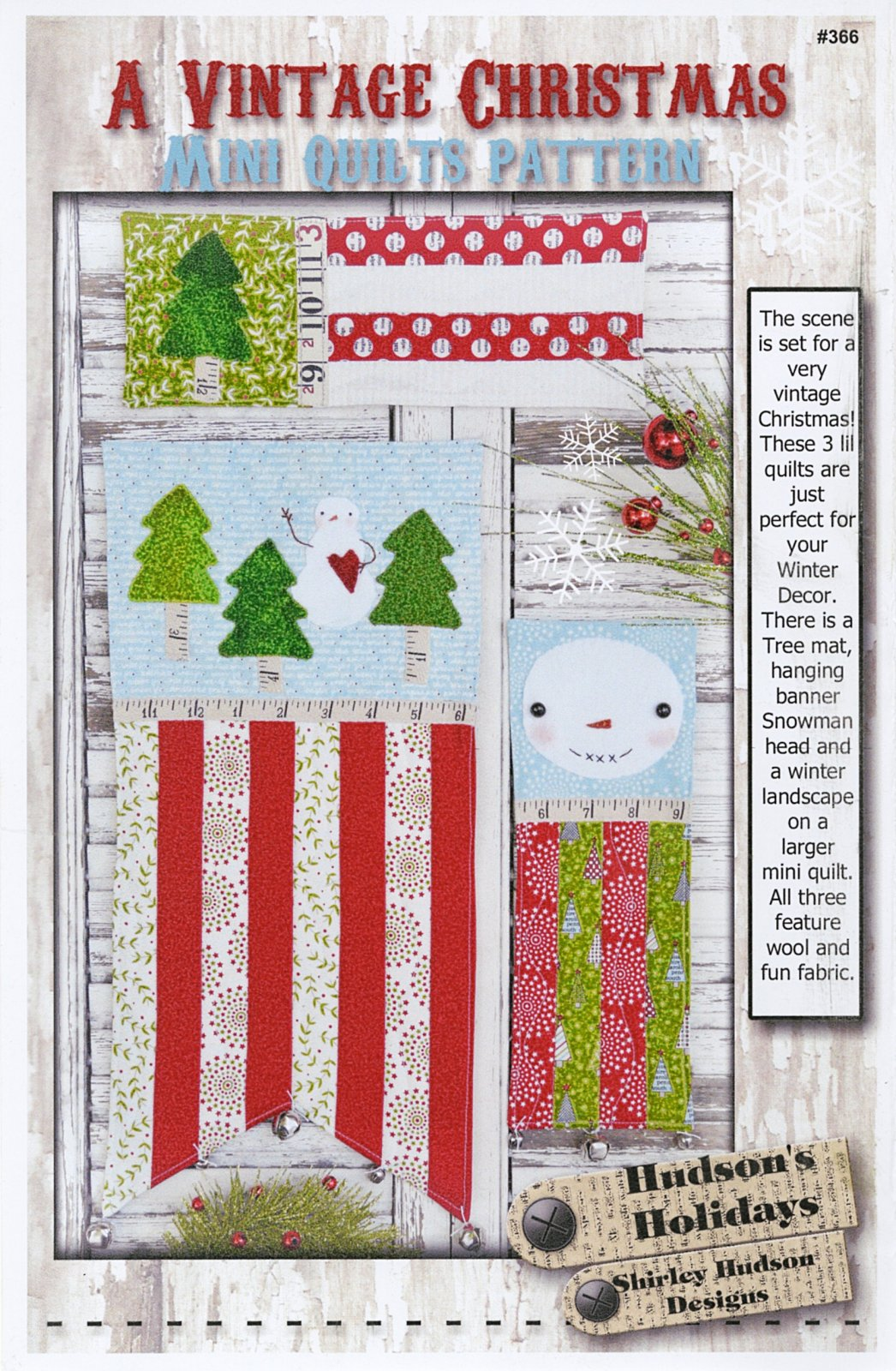 A Vintage Christmas Mini Quilts