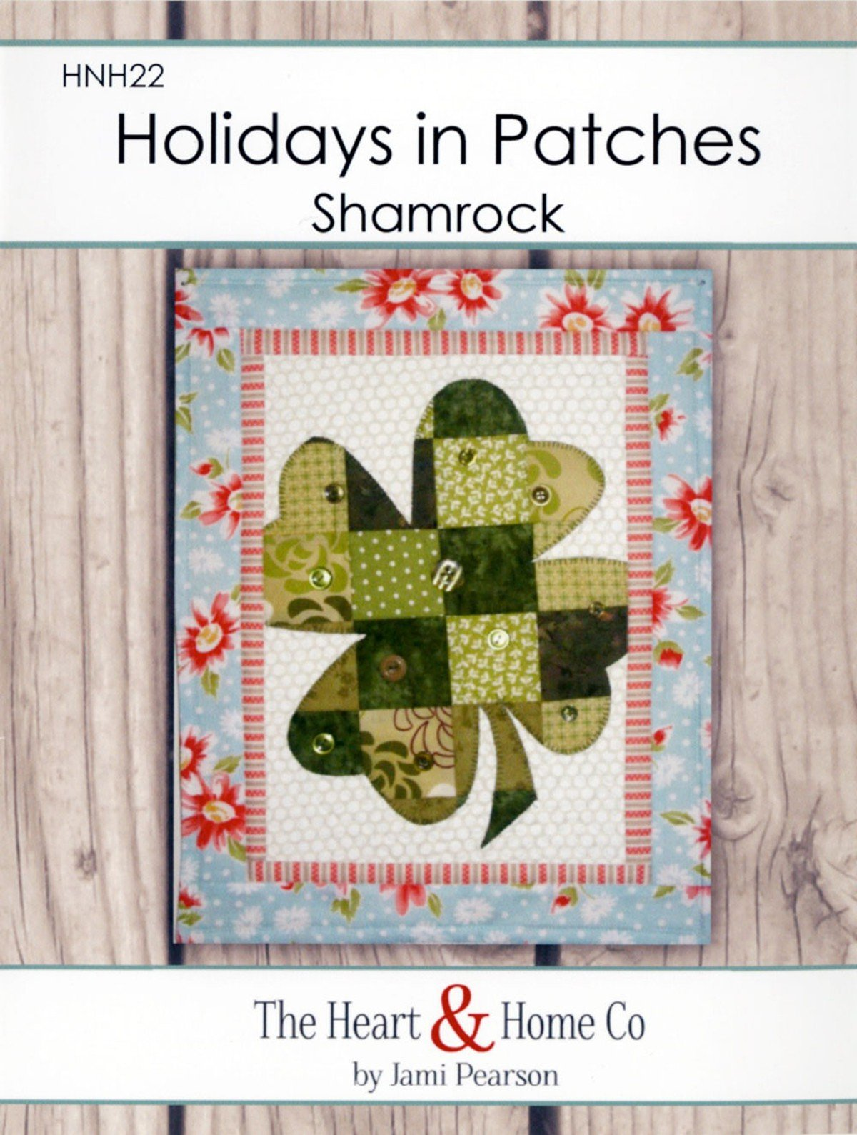 Holidays In Patches Shamrock