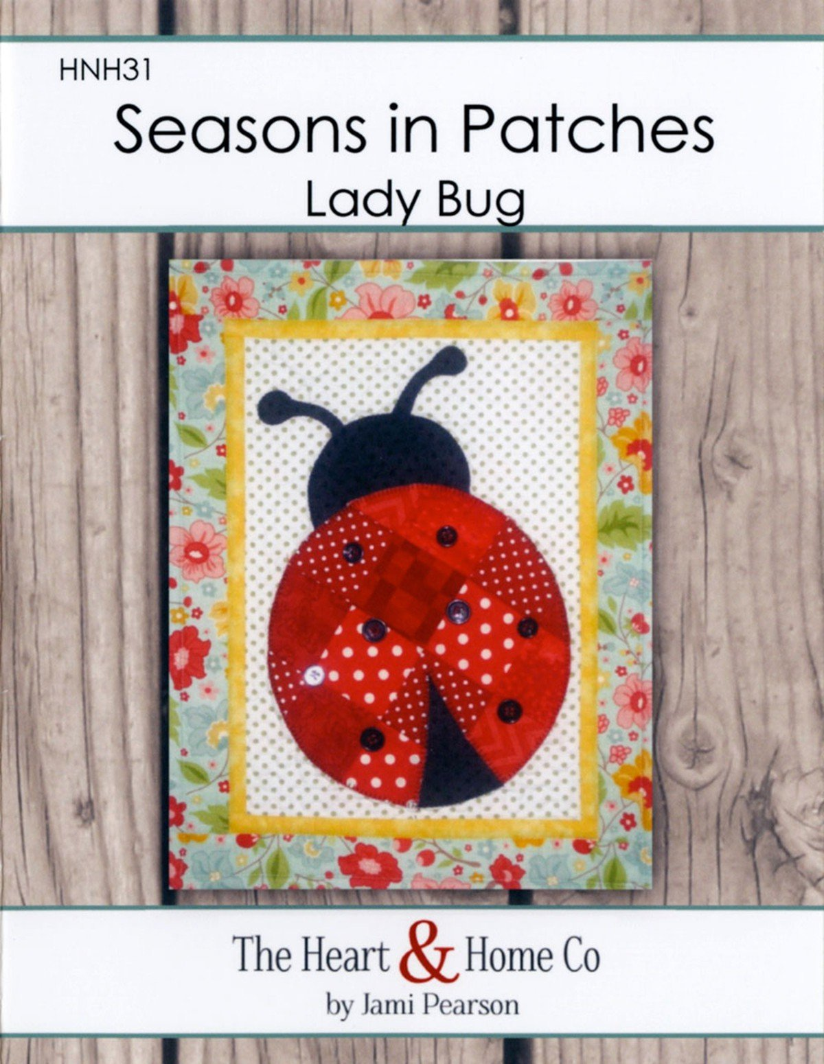 Seasons In Patches Lady Bug