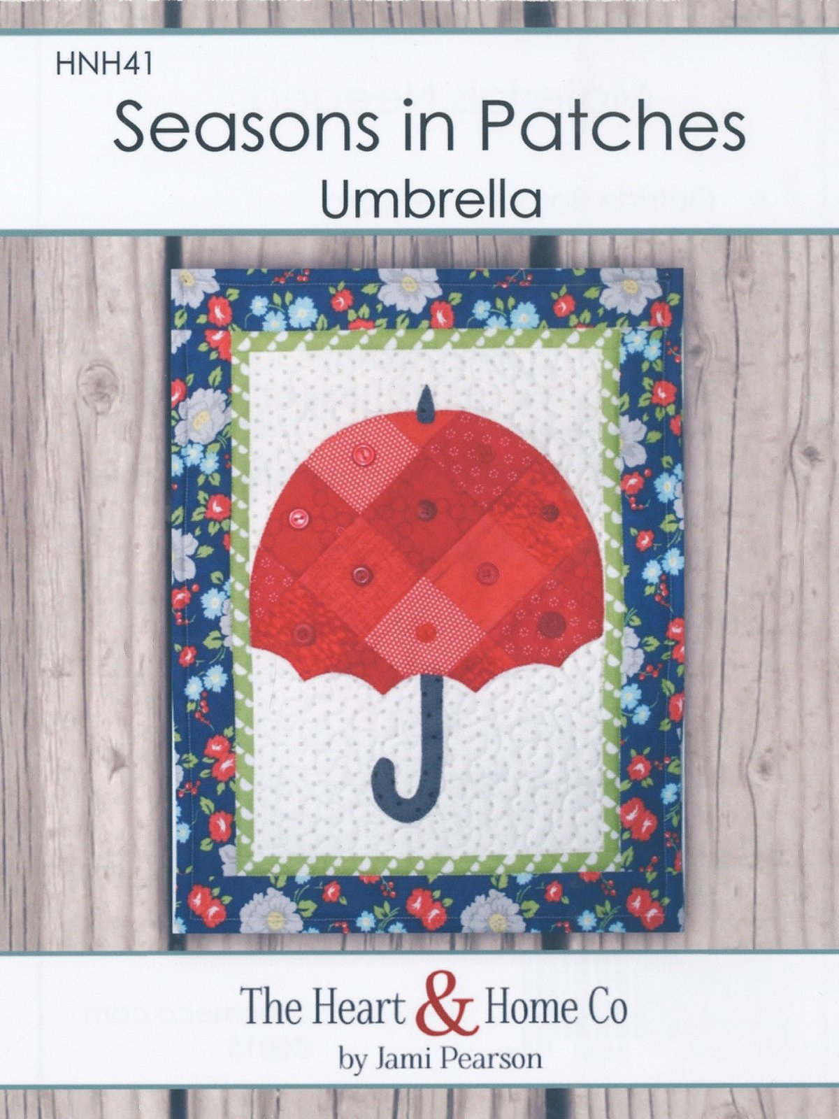 Seasons in Patches Umbrella
