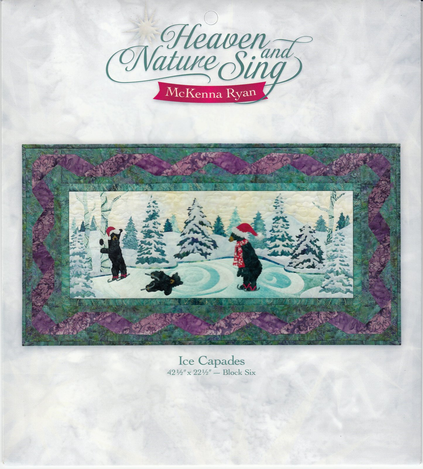 Heaven and Nature Sing Block of the Month Ice Capades