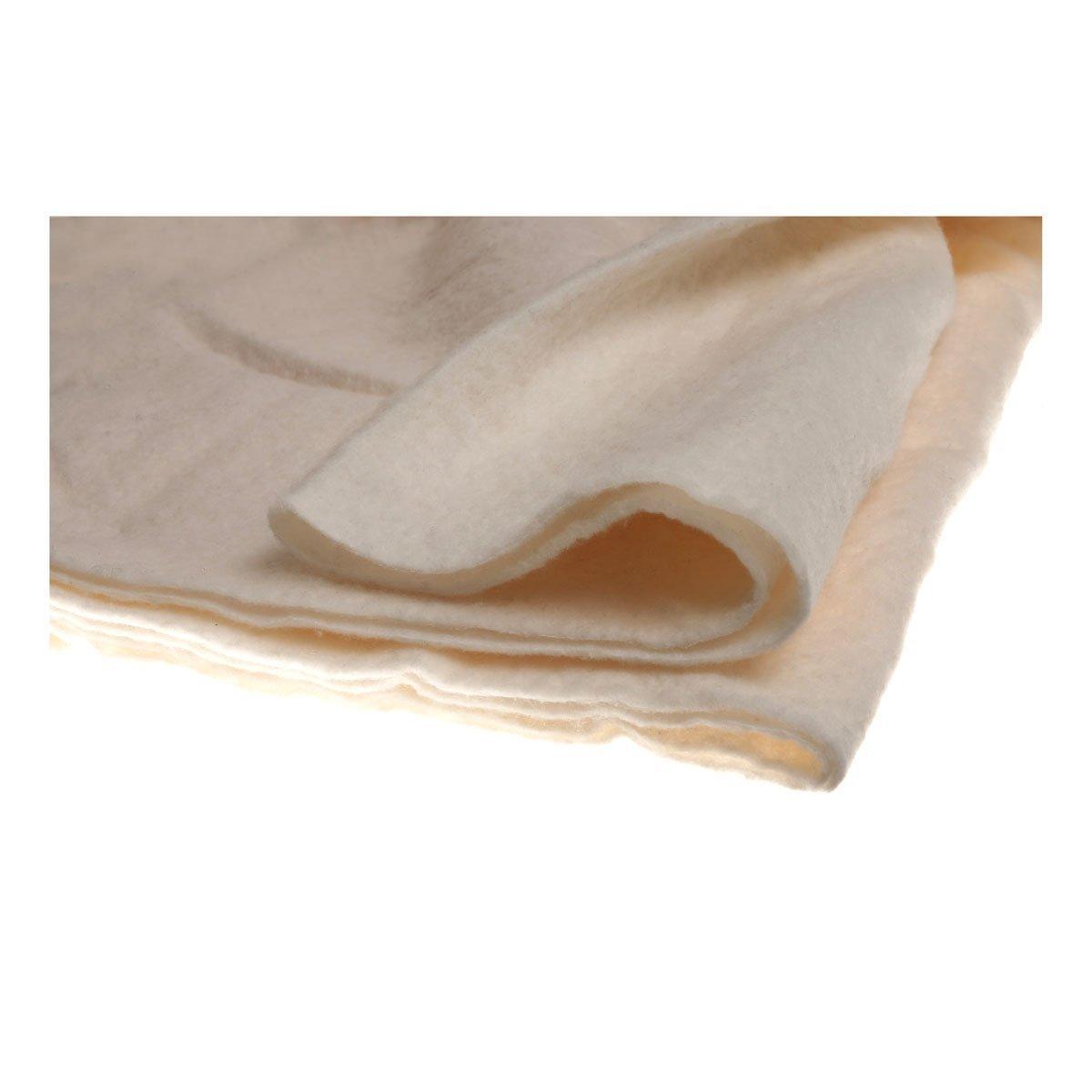 Heirloom Natural Cotton Batting w/Scrim Craft Size 36 x 45