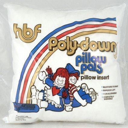 Poly-down Pillow Polypropylene Cover 12 x 12