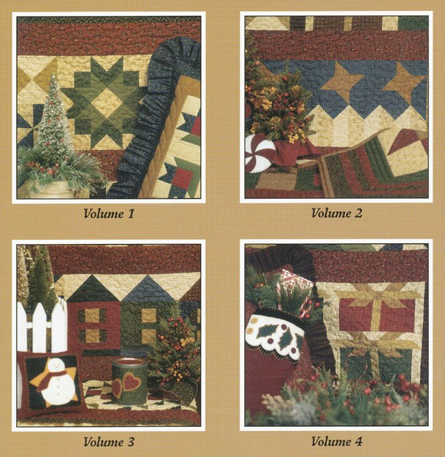 Thimbleberries Hometown Christmas (Four Vol Set) Pattern