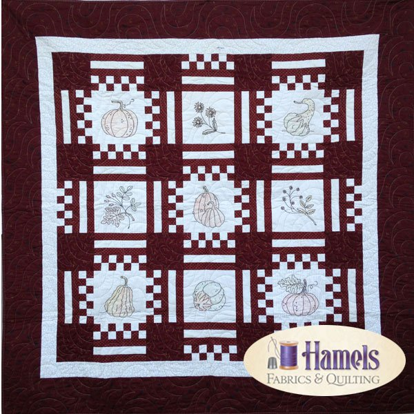 Hopscotch Embroidery Quilt Kit