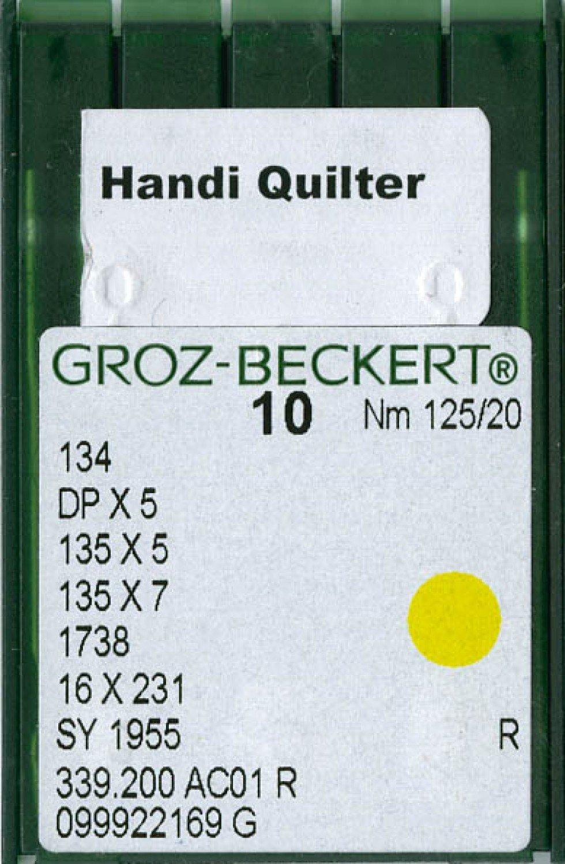 Handi Quilter Machine Needles Size 20 10ct