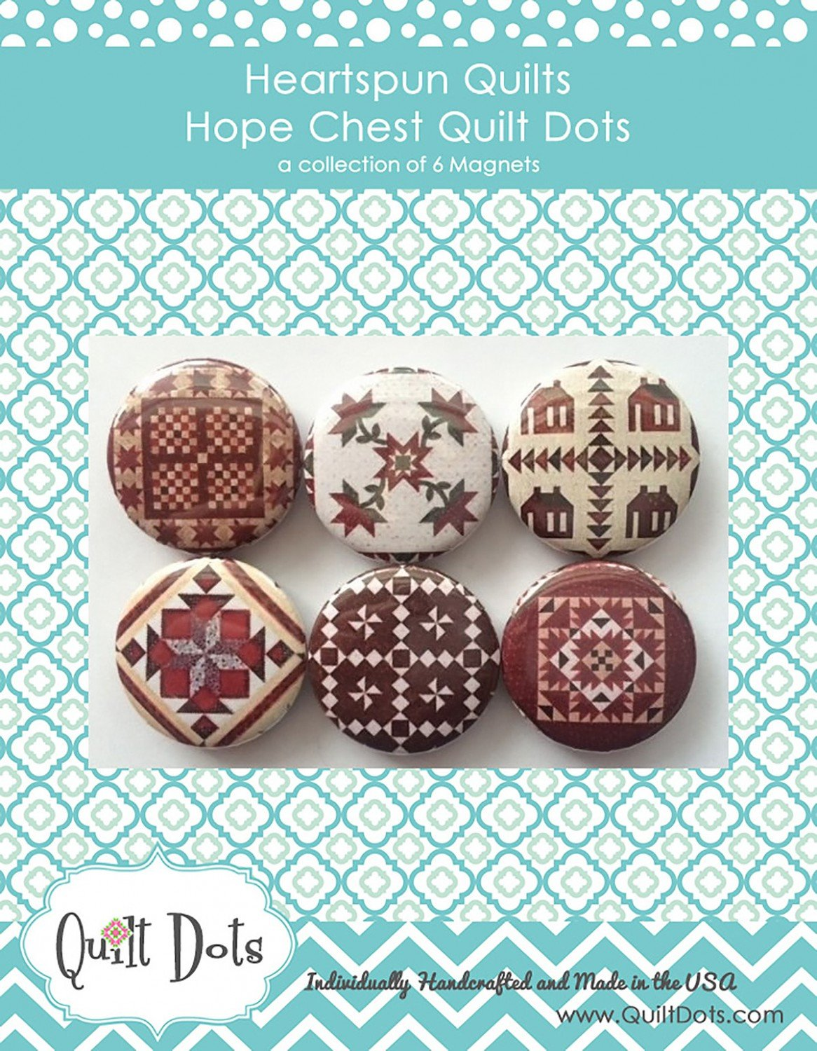 Heartspun Quilts Hope Chest 6 Magnets