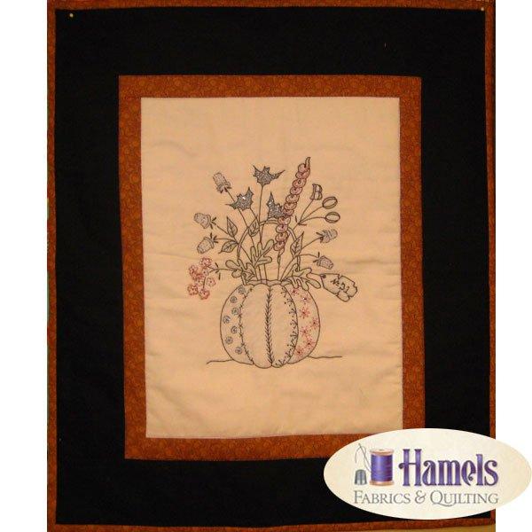 Halloween Thimble Bouquet Quilt Kit