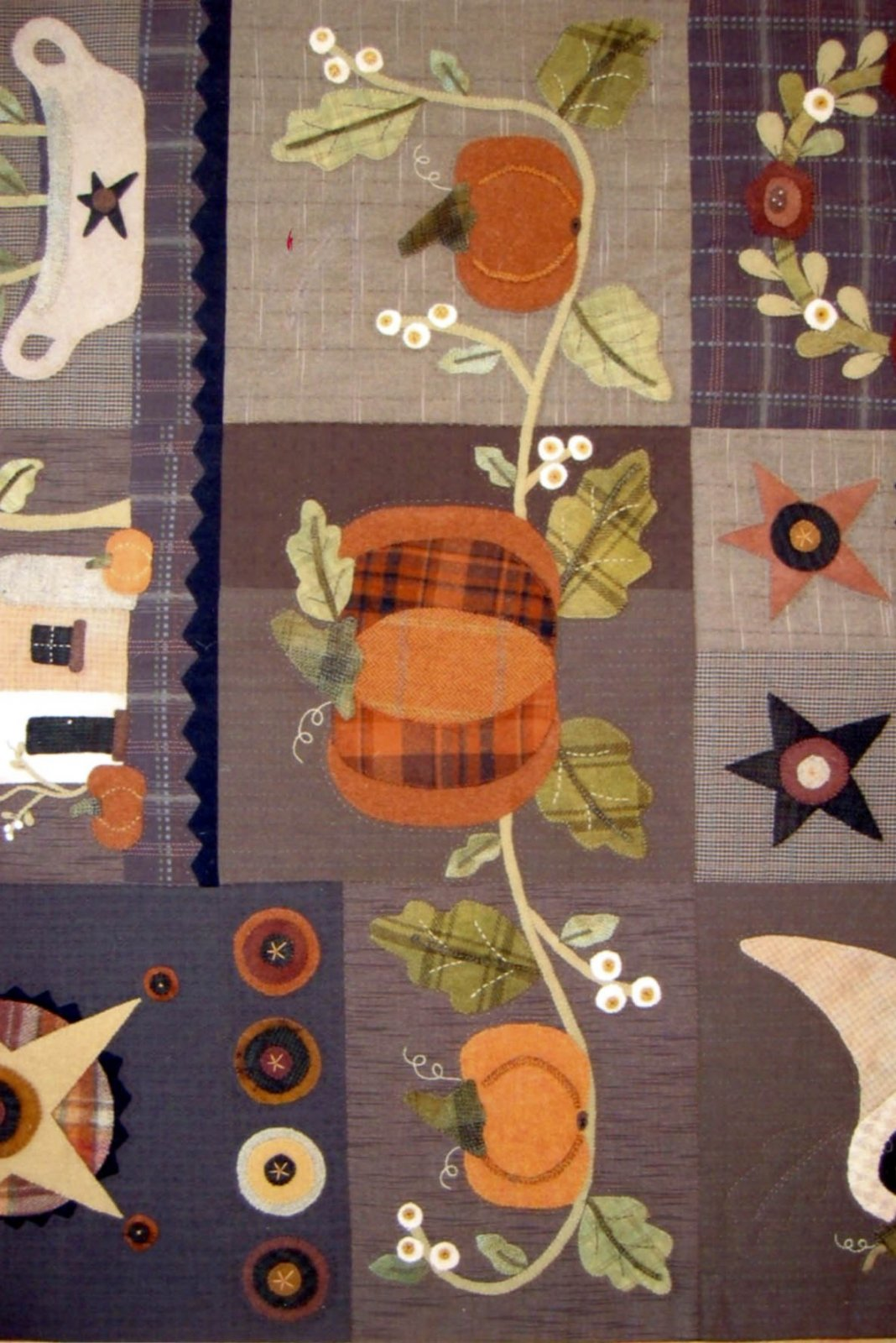 Autumn Quilt Block of the Month Blocks 456