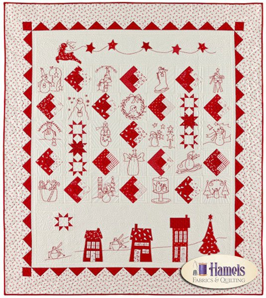 I Believe in Snowmen Finished Quilt
