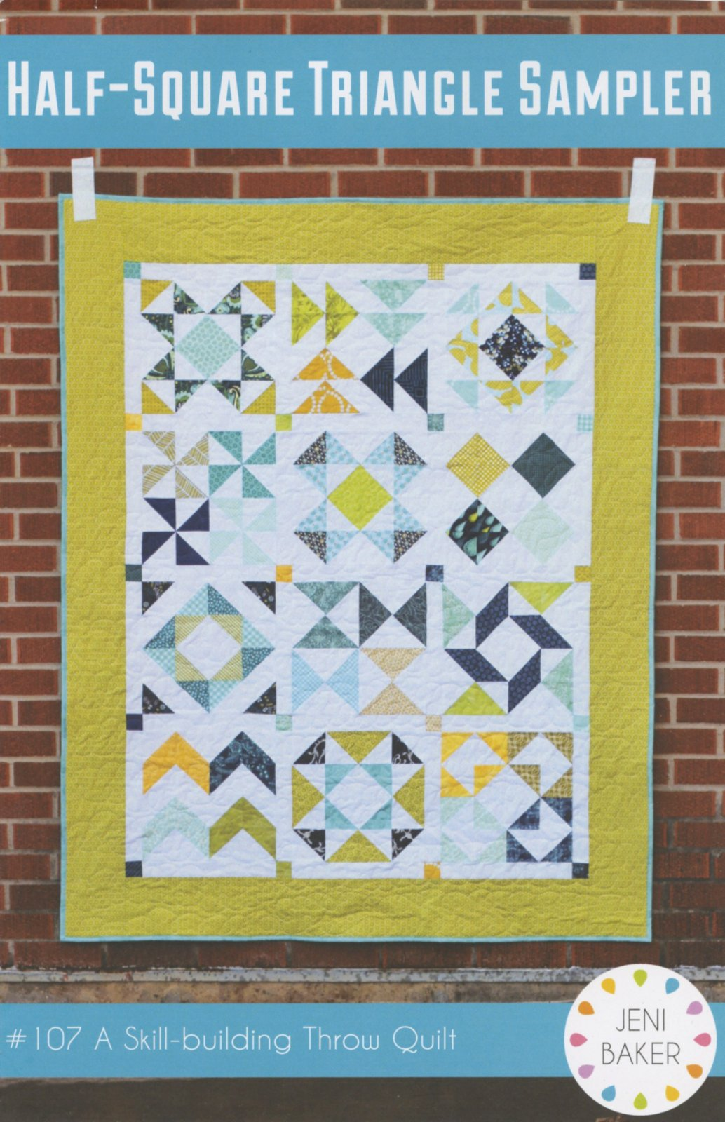 Half-Square Triangle Sampler Quilt