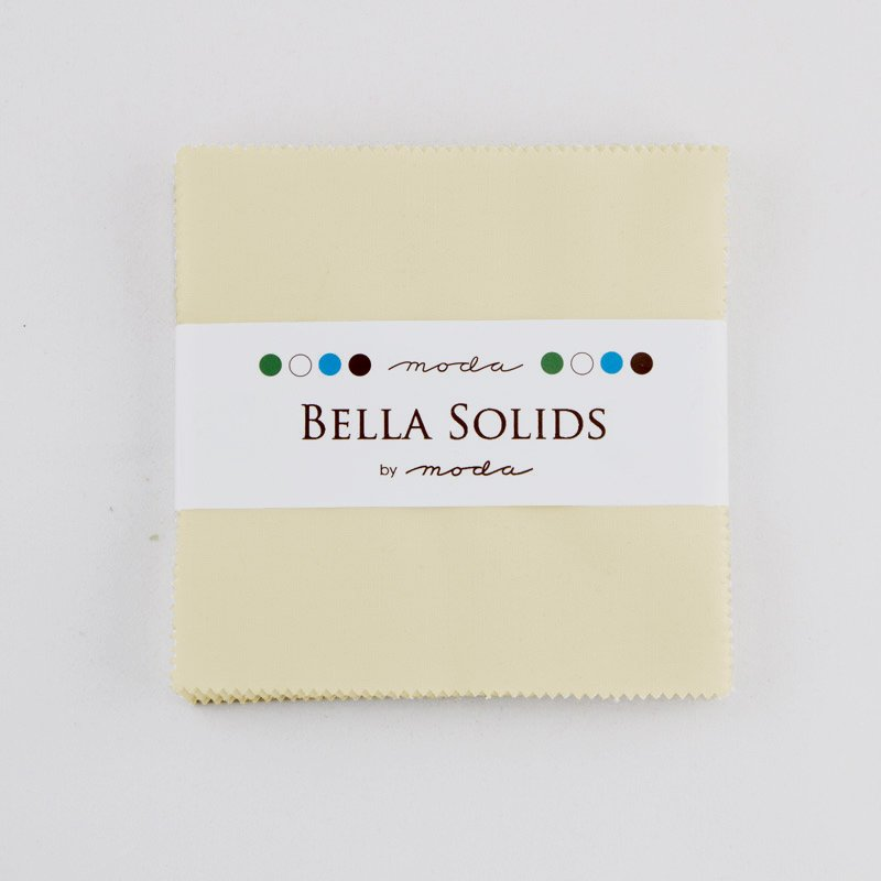 Bella Solids Charm Pack Fig Tree