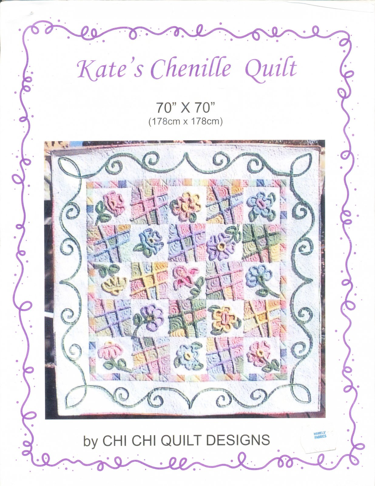 Kate's Chenille Quilt