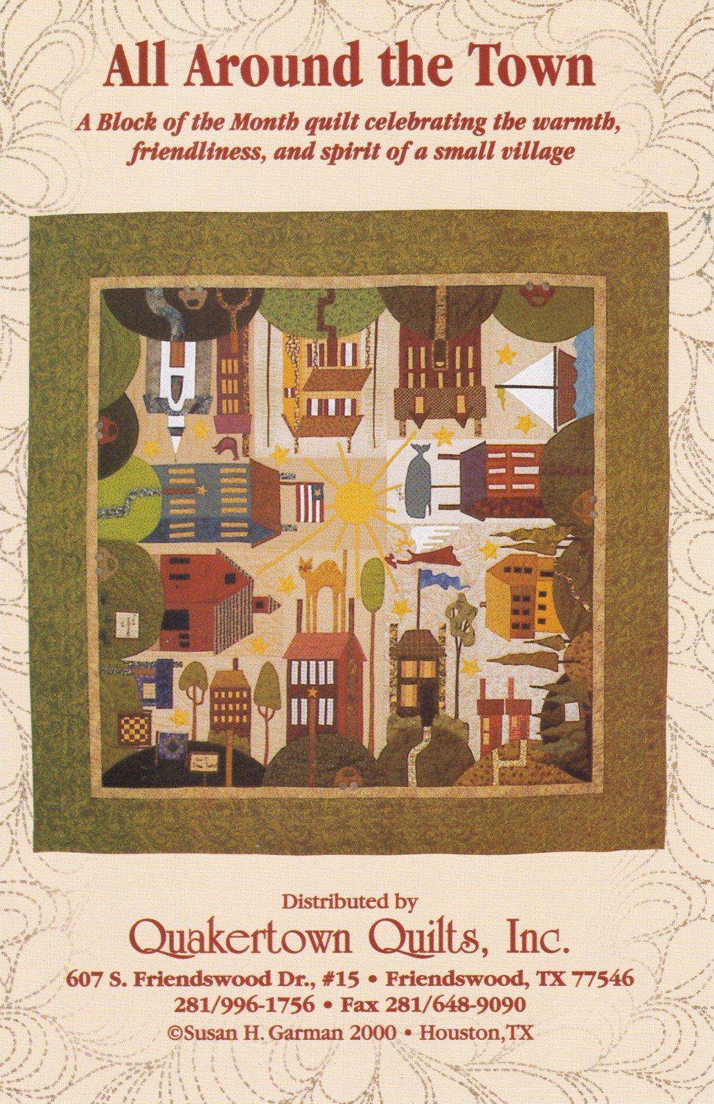 All Around the Town - Complete Pattern Set
