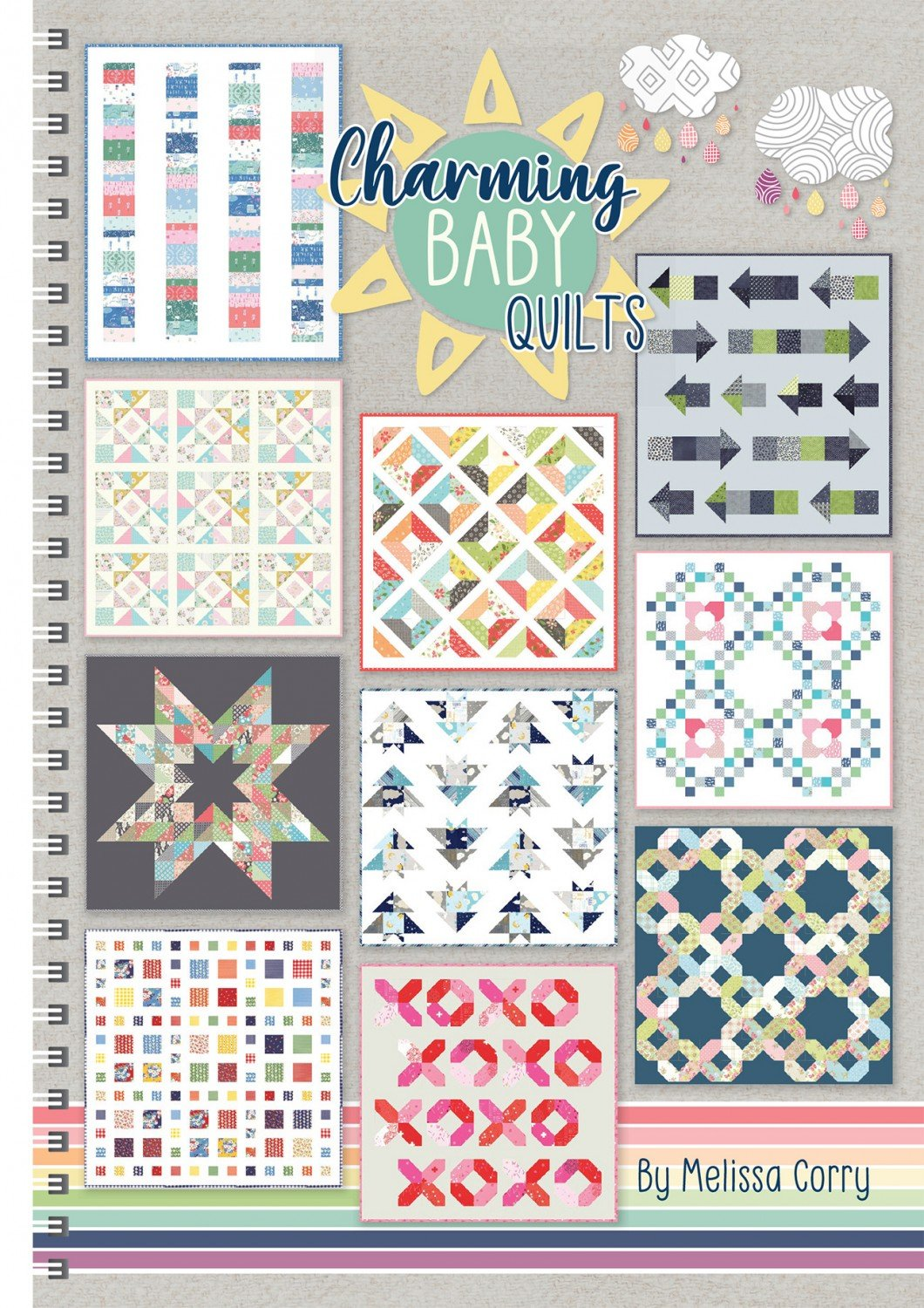 Charming Baby Quilts Book ~RELEASE DATE March 13/20~