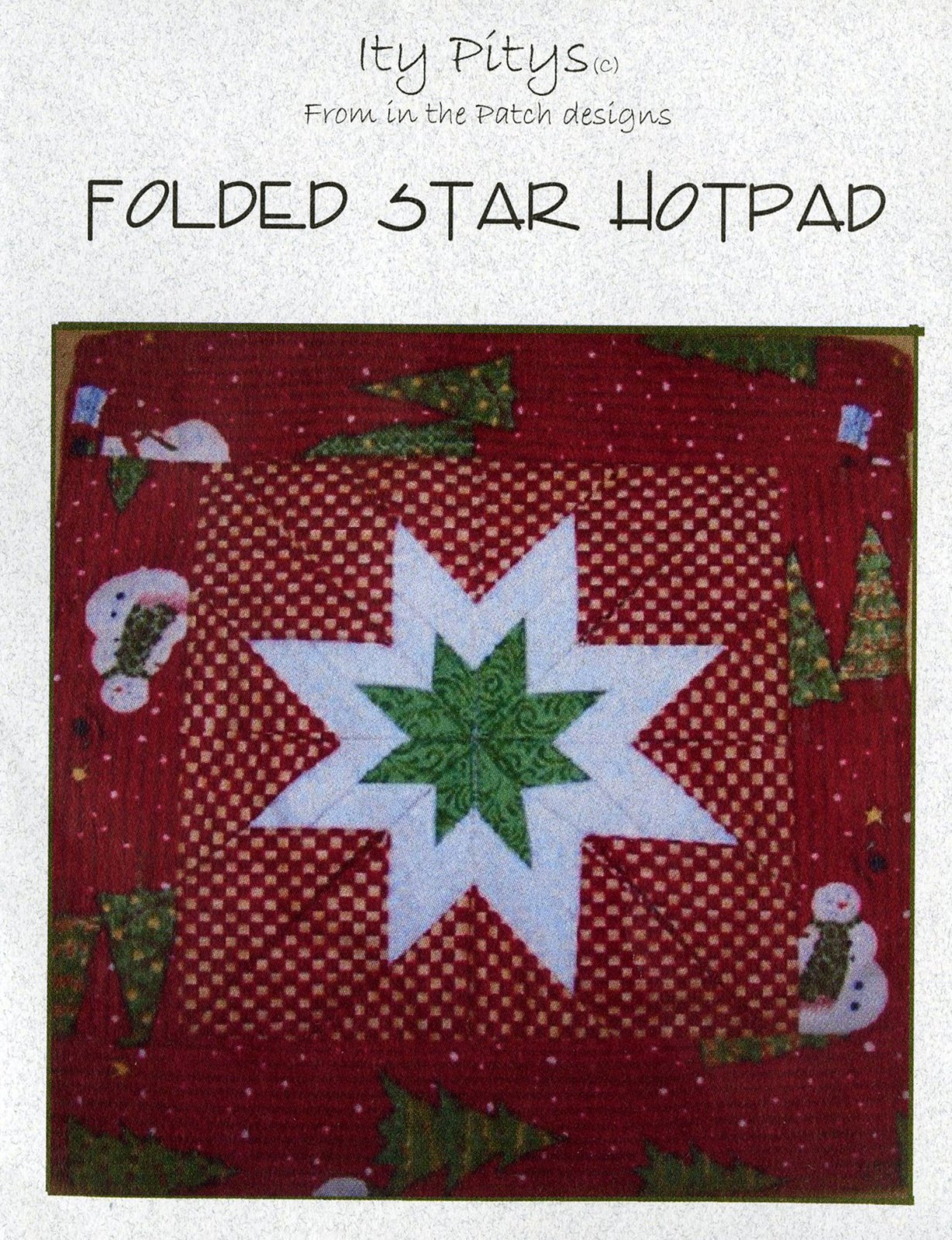 Itty Pitty Folded Star Previously Item WCP4781