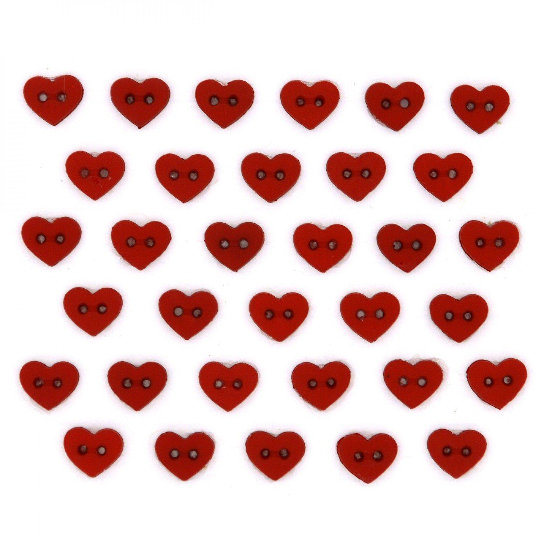 Micro Mini Red Hearts