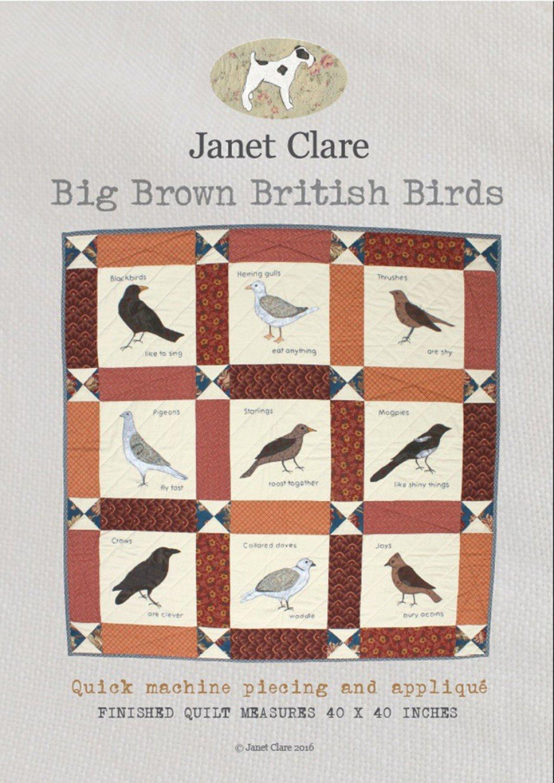 Big Brown British Birds