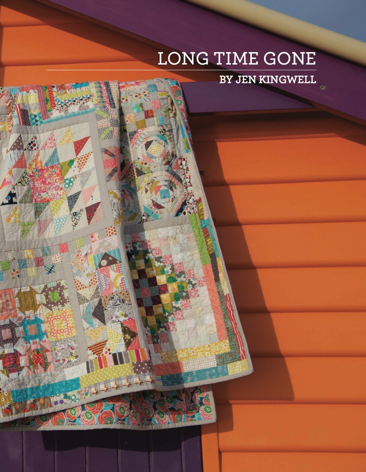 Long Time Gone Booklet