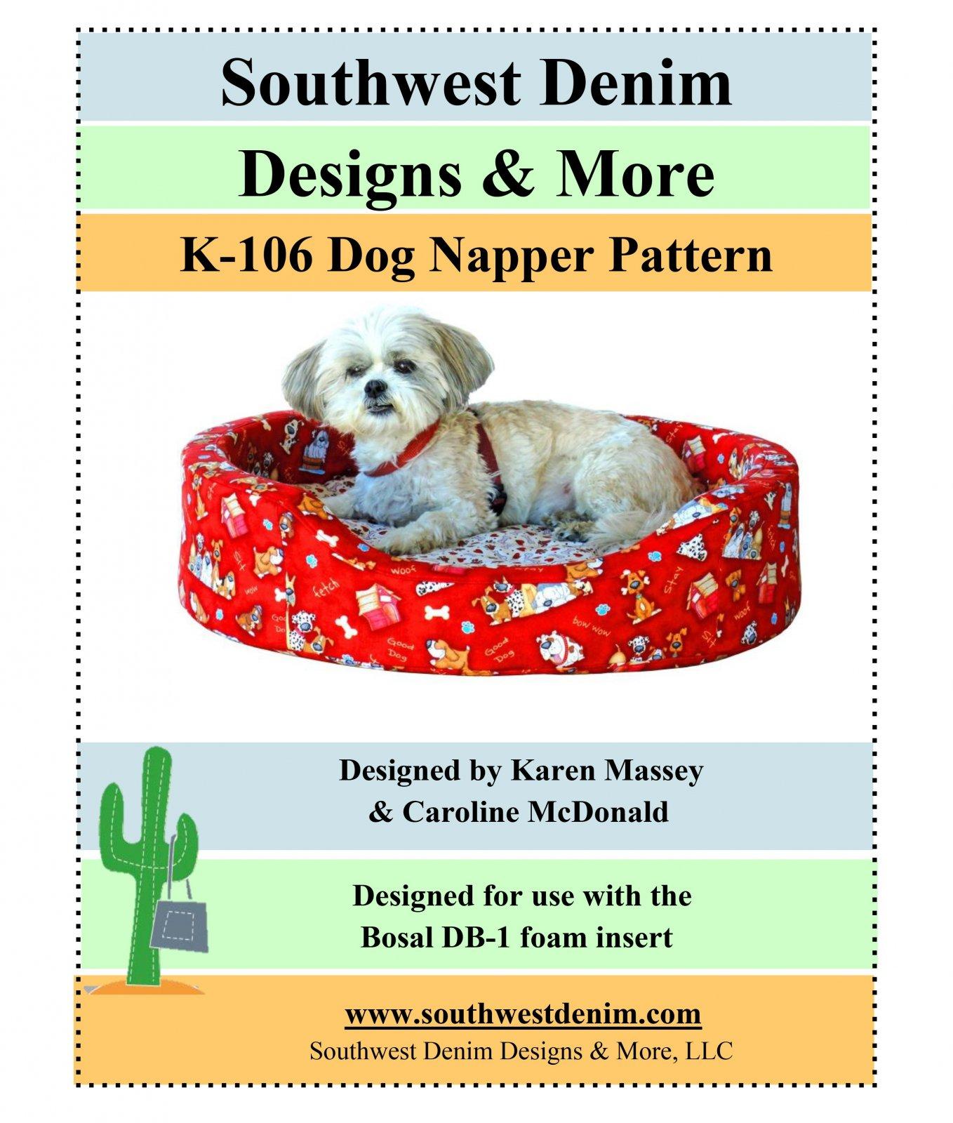 Dog Napper Pattern