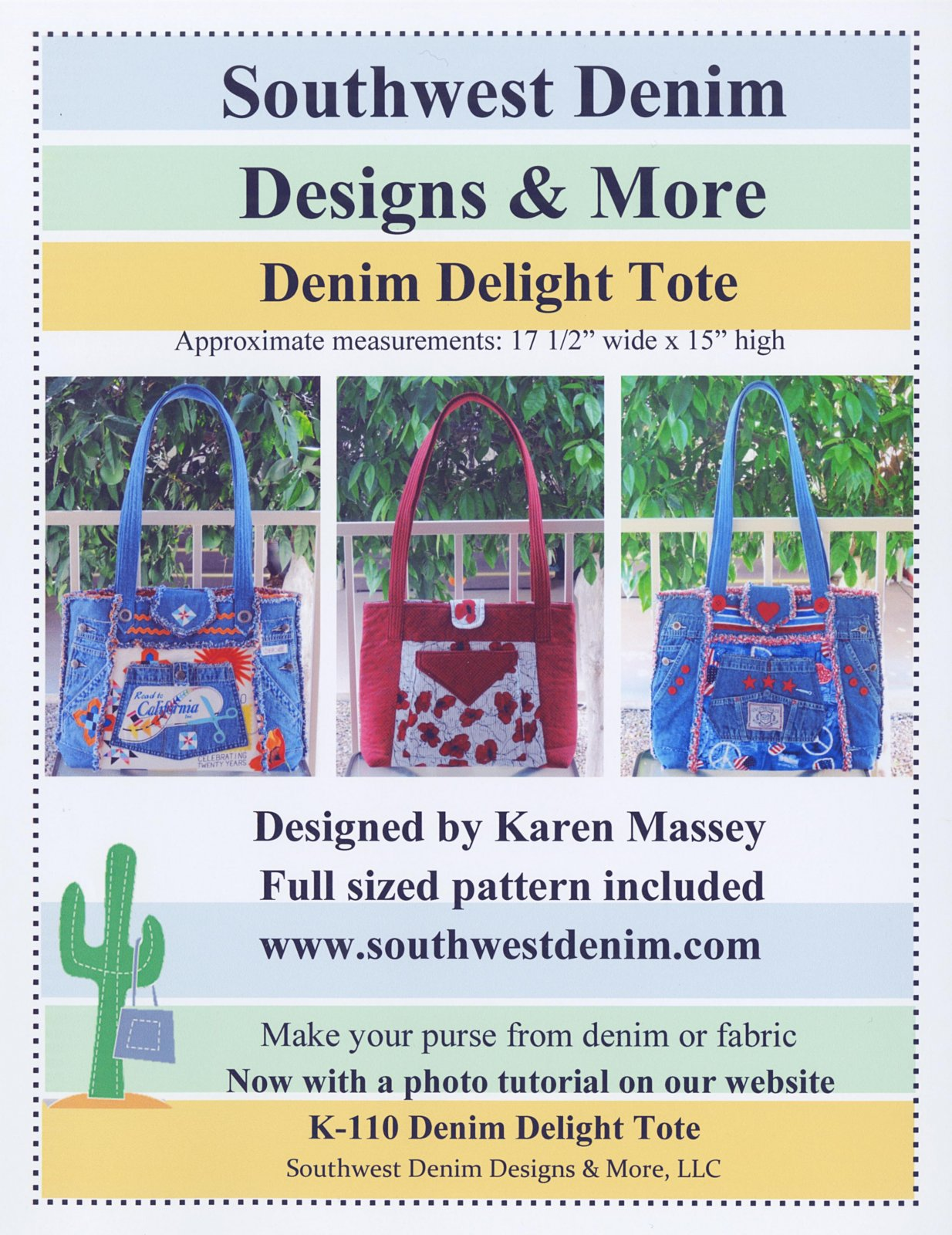 Denim Delight Tote