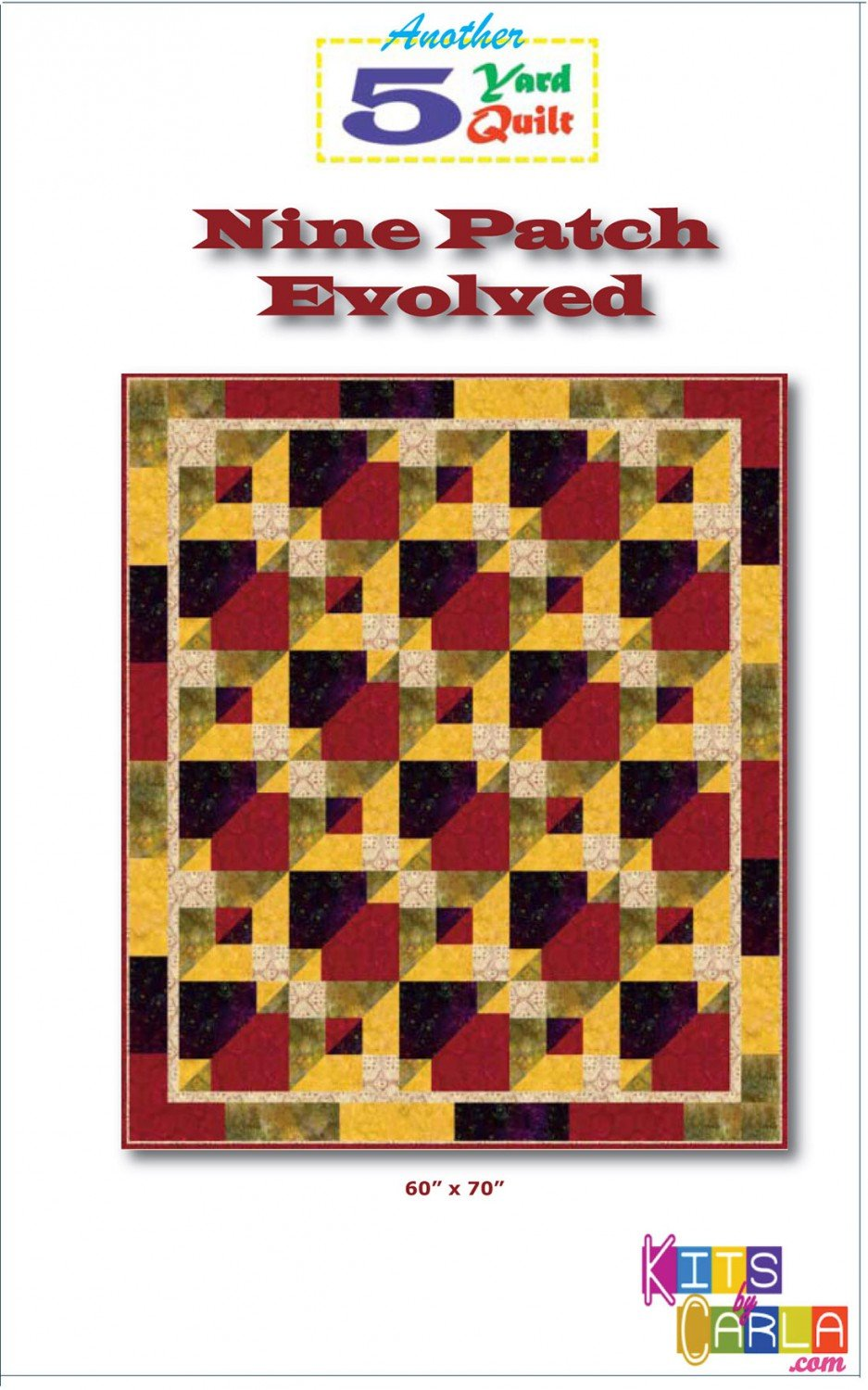 5 Yard Quilt Nine Patch Evolved