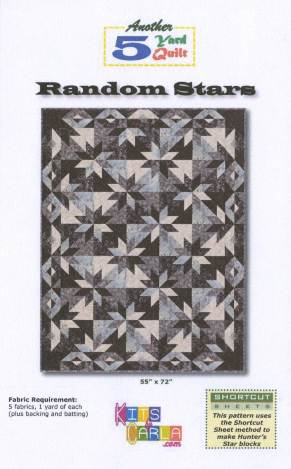 Random Stars Pattern